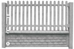 ogrodzenie betonowe BORDER 100-73a-1_101