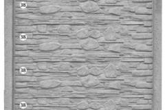 ogrodzenie betonowe BORDER 38-38-38-38_208