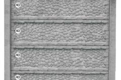 ogrodzenie betonowe BORDER 40-40-40-40_204