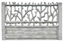 ogrodzenie betonowe BORDER 15-14_209