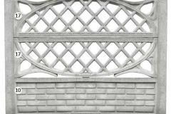 ogrodzenie betonowe BORDER 17-17-10_123