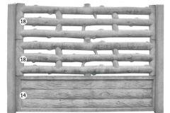 ogrodzenie betonowe BORDER 18-18-14_121