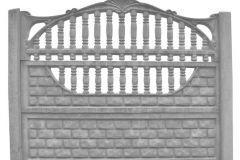 ogrodzenie betonowe BORDER 19-2-1_147