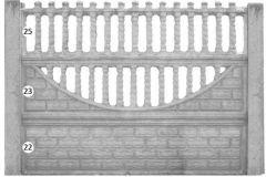 ogrodzenie betonowe BORDER 25-23-22_126