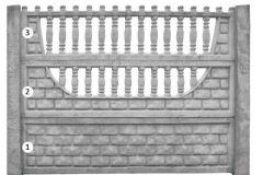 ogrodzenie betonowe BORDER 3-2-1_127