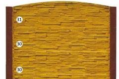 ogrodzenie betonowe BORDER 30-30-31_92