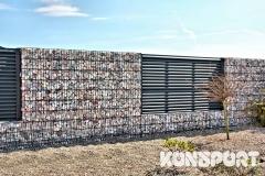 Ogrodzenia palisadowe gabionowe Border Małopolska NOWOŚCI  (6)