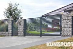 Ogrodzenia palisadowe gabionowe Border Małopolska NOWOŚCI  (9)