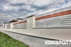Ogrodzenia PALISADOWE STYLIZOWANE Border Małopolska (6)