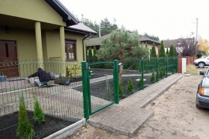 ogrodzenie panelowe BORDER 1