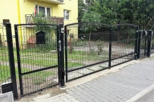 ogrodzenie panelowe brama BORDER 2
