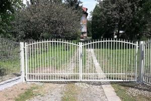 ogrodzenie panelowe brama BORDER 3
