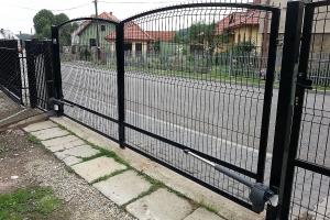 ogrodzenie panelowe brama BORDER