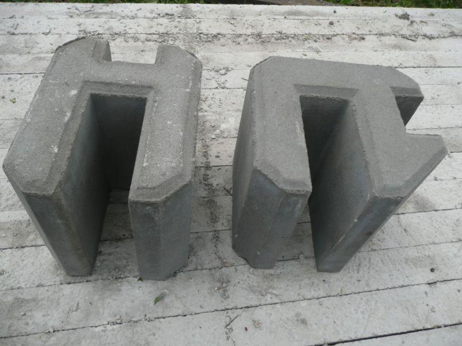 Ogrodzenia betonowe podmurówki betonowe BORDER
