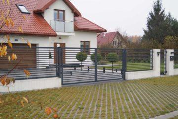 ogrodzenie palisadowe PP002(P) BORDER KONSPORT
