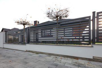 ogrodzenie palisadowe PP002(P64) BORDER KONSPORT