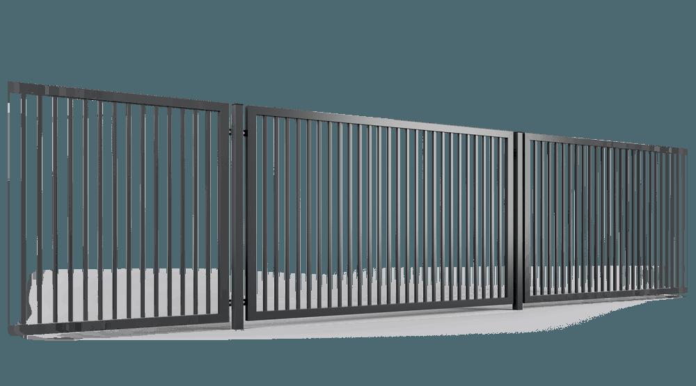 ogrodzenie palisadowe przęsło P002 BORDER KONSPORT