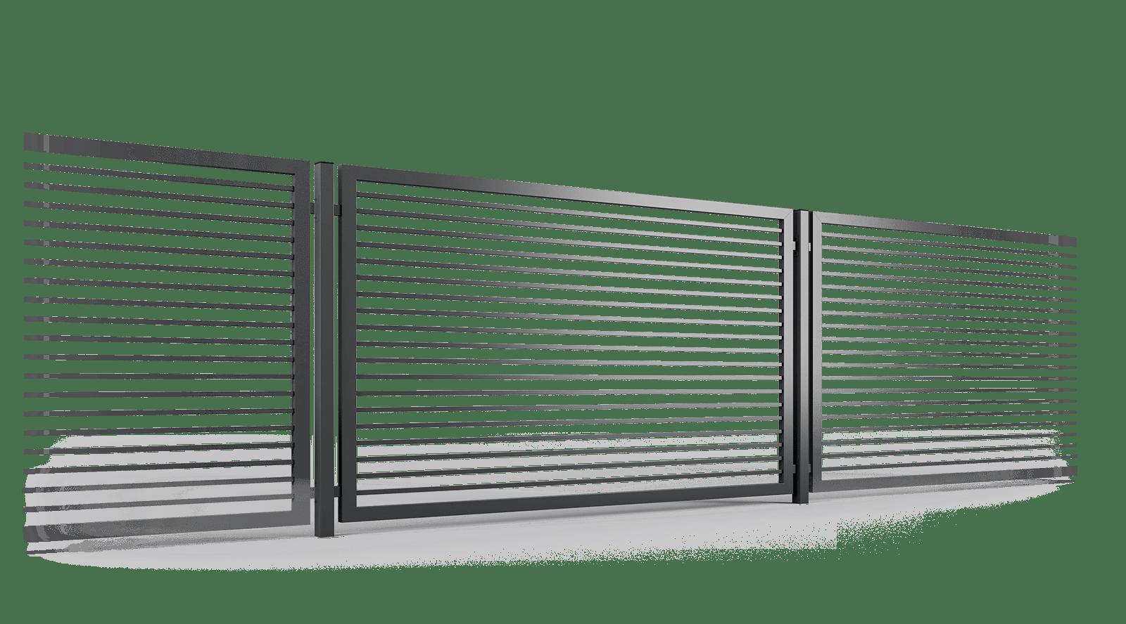 ogrodzenie palisadowe przęsło P002(P) BORDER KONSPORT