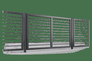ogrodzenie palisadowe przęsło P002(P22) BORDER KONSPORT