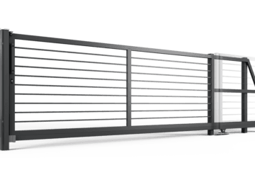 ogrodzenie palisadowe brama samonośna P002(P22) BORDER KONSPORT