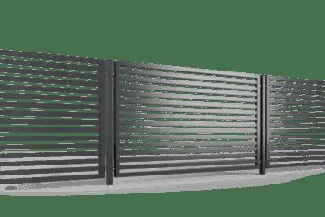 ogrodzenie palisadowe przęsło P002(P64) BORDER KONSPORT