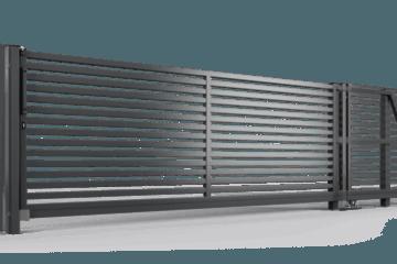 ogrodzenie palisadowe brama samonośna P002(P64) BORDER KONSPORT