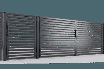 ogrodzenie palisadowe brama uchylna P002(P64) BORDER KONSPORT