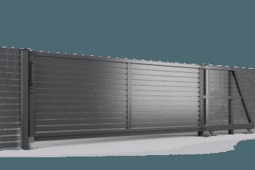 ogrodzenie palisadowe brama samonośna P002(P82) BORDER KONSPORT
