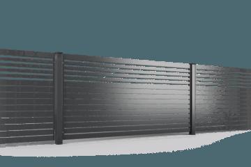 ogrodzenie palisadowe przęsło P002(P82) MIX BORDER KONSPORT