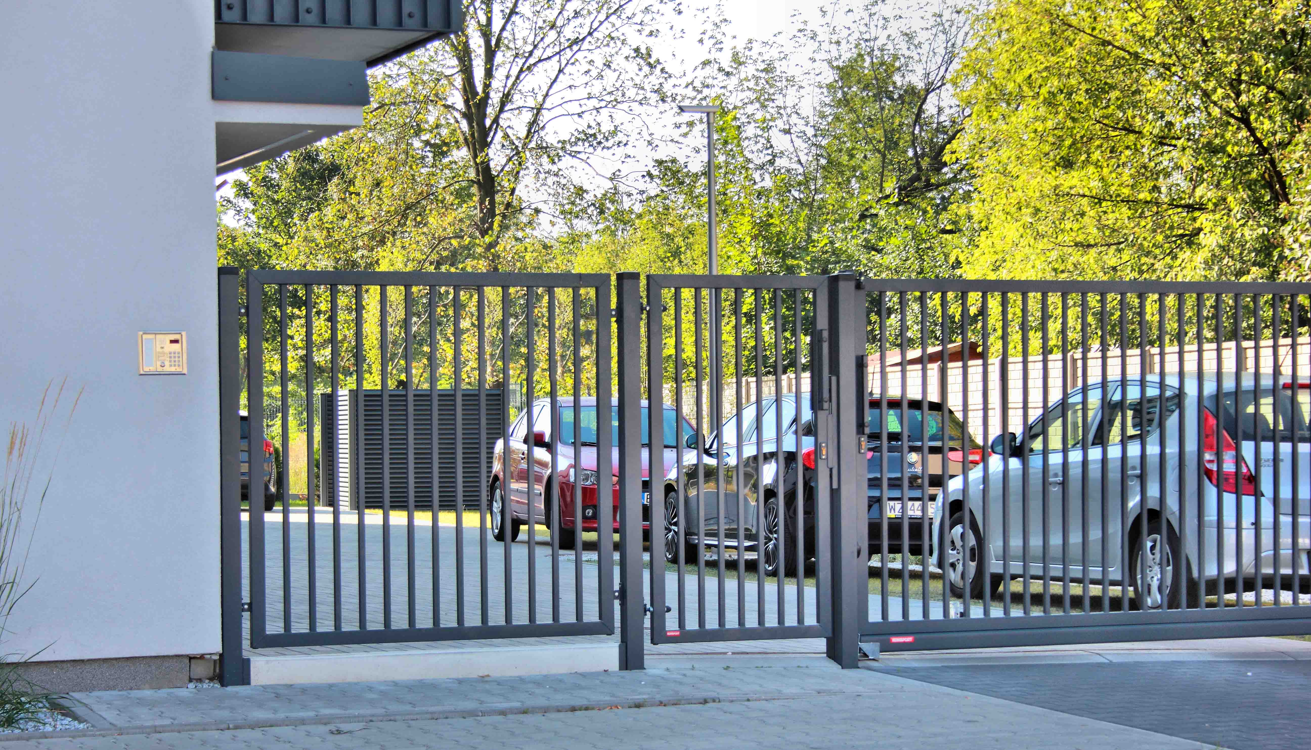 ogrodzenie palisadowe PP002 BORDER KONSPORT