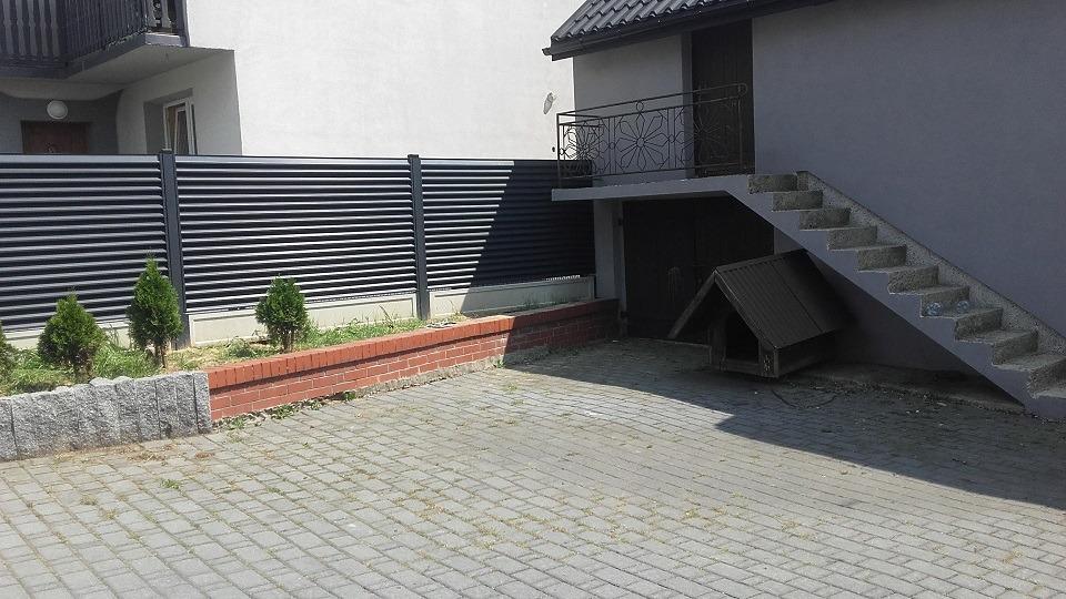ogrodzenie palisadowe żaluzyjne BORDER 4