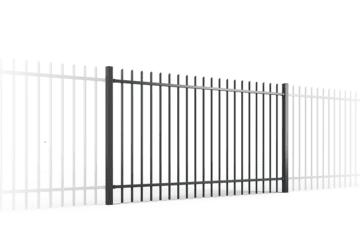 ogrodzenie palisadowe PP001 BORDER KONSPORT