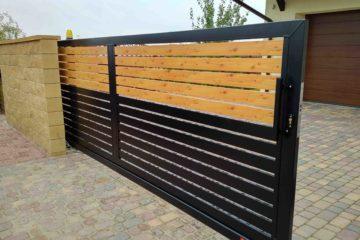 ogrodzenie palisadowe stylizowane PP 002 (P82) PINO II BORDER KONSPORT 4