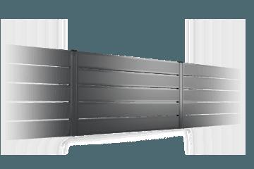 P305 przęsło ogrodzenie palisadowe BORDER KONSPORT