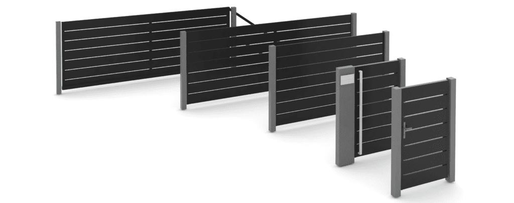 Ogrodzenie aluminiowe ALUPLATEN BORDER