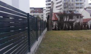 ogrodzenie palisadowe P82 Konsport BORDER