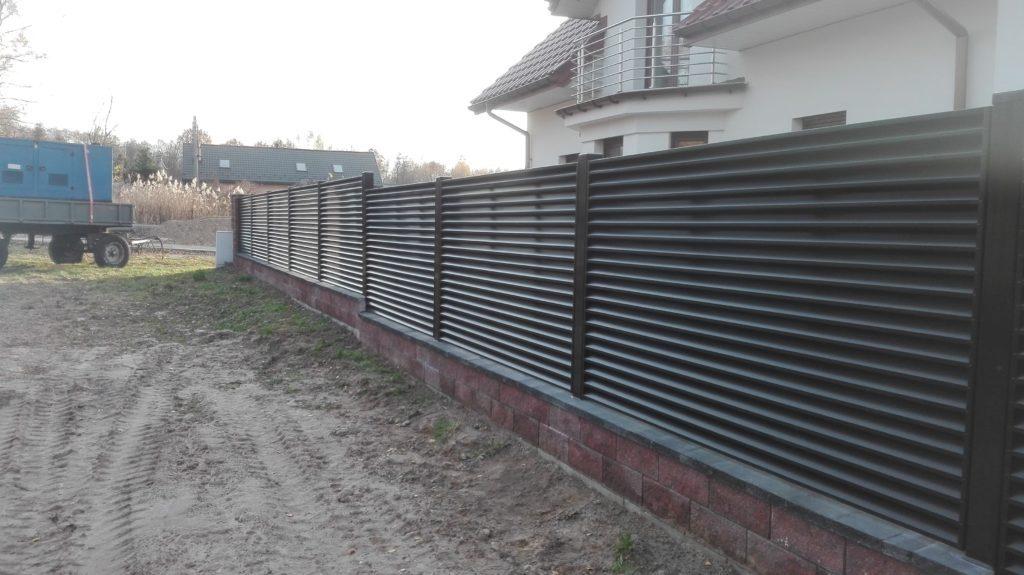 ogrodzenie palisadowe żaluzyjne PS004 Border