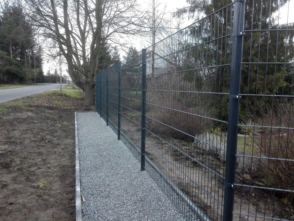ogrodzenie panelowe palisadowe BORDER