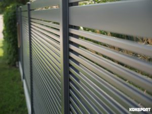 Ogrodzenie palisadowe Diverso Konsport BORDER