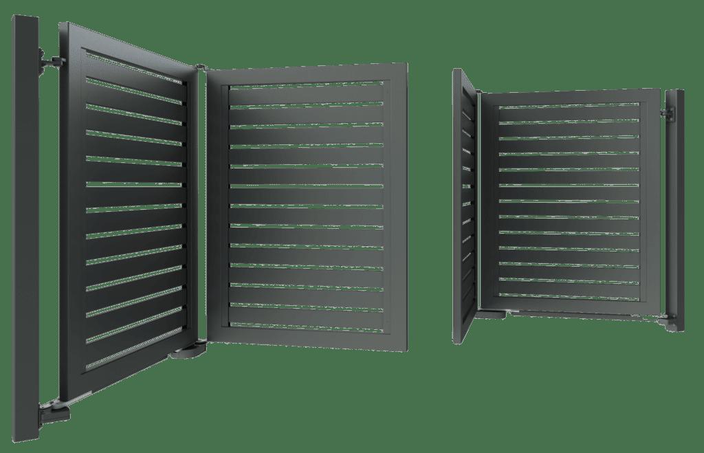 bramy składane Ogrodzenie palisadowe KONSPORT BORDER