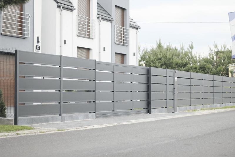 Ogrodzenie palisadowe PP002 (P305) KONSPORT BORDER