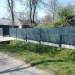 ogrodzenie palisadowe KONSPORT P82 Border