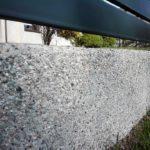 ogrodzenie palisadowe KONSPORT P82 Border podmurówka prefabrykowana płukana