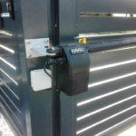 ogrodzenie palisadowe KONSPORT P82 Border automatyka do bram Faac 414