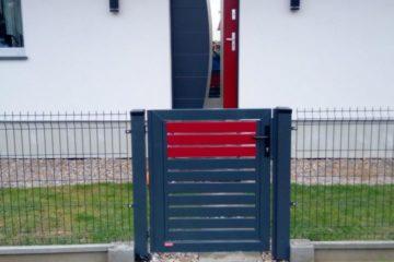 Ogrodzenie palisadowe stylizowane COLORE KONSPORT BORDER
