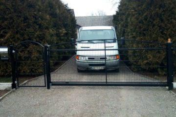 ogrodzenie panelowe łukowe ogrodzenia border ogrodzenia alugate FACC ogrodzenie panelowe panele 3D (1)
