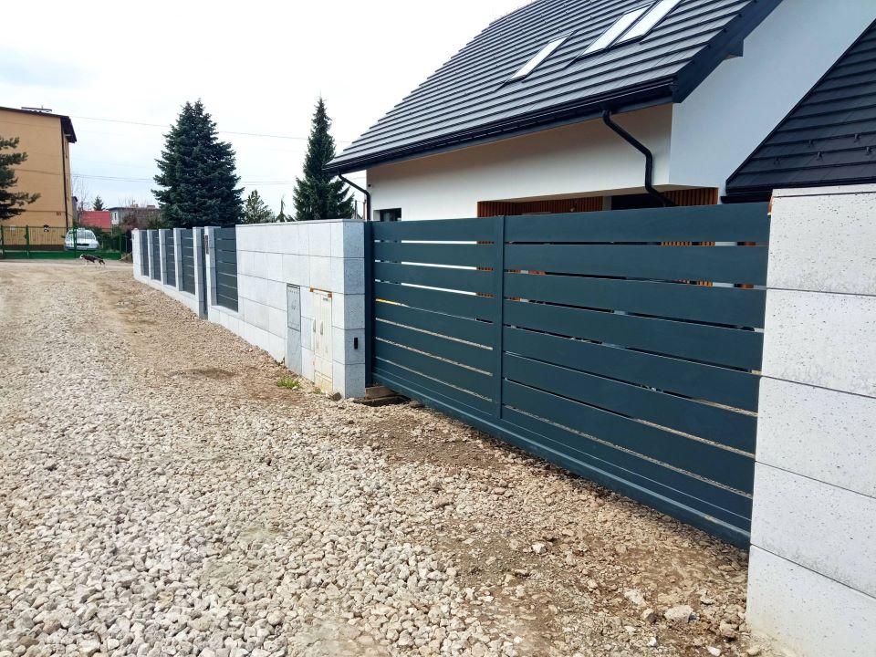 ogrodzenie aluminiowe ALUgate AG200 – BORDER 5